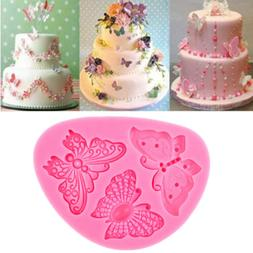 Butterfly Shape Silicone Fondant Cake Mold Decorating Chocol