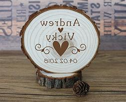 buythrow Personalized Bride and Groom Custom Date Wedding Ca