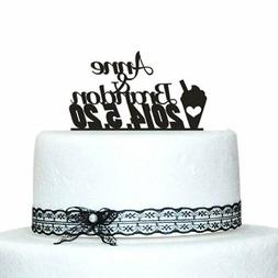 Buythrow® Cake Decorations Personalized Custom Name And Dat