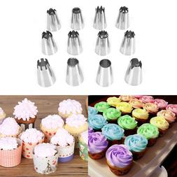 Cake Decorating Kit Supplies Set Tools Piping Tips Pastry Ic