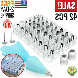 Cake Decorating Kit Supplies Tools Set Piping Tips Pastry Ic