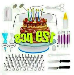Cake Decorating Tool Set Kit Bags Tips Pastry Bag Nozzles Ba