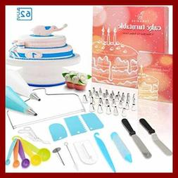 Cake Decorating Turntable All In One Baking Set Including Ic
