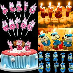 Cake Numbers Age Candle Kids Baby Birthday Anniversary Party