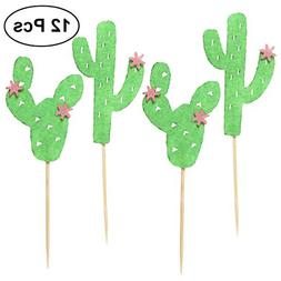 TINKSKY Cake Toppers Cake and Cupcake Toothpick Toppers for