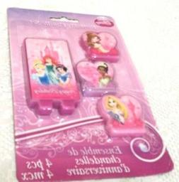 Candles Princess Party Disney Four in Each Package Design Wa