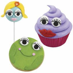 Candy Eyeballs with Lashes Icing Decorations from Wilton 222