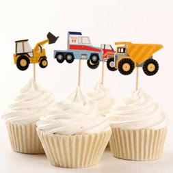 Transportation Cupcake Toppers Picks Toppers Decor Bithday P
