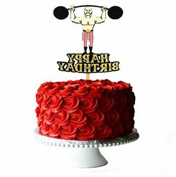 Circus Strong Man Vintage Cake Topper vintage circus party c