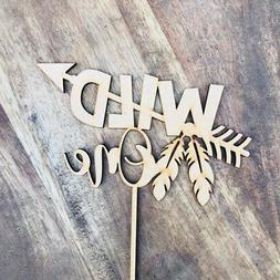 CLEARANCE 1 ONLY in Timber  Wild One Cake Topper Birthday Ca