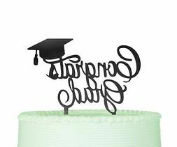 Congrats Grad Cake Topper Graduation Cake Topper Grad Party