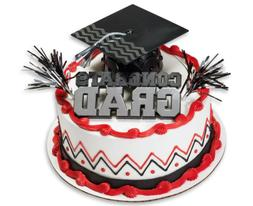 Congrats Grad with Black Cap Graduation Cake Kit