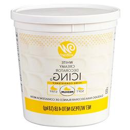 Wilton Creamy White Decorator Icing,Medium Consistency,4 lb.