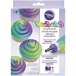 Cupcake Decor Kit Coupler Pipe Tool Dessert Swirl Ice Tip Ba