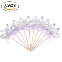 Nice purchase 20pcs Cupcake Toppers Birthday Party Supplies