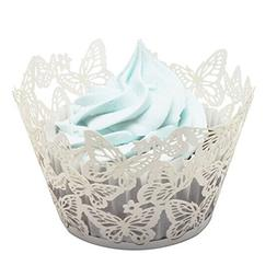 Tinksky Cupcake Wrappers Cupcake Cases Cupcake Holders Muffi