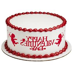 Cupid's Arrow Strips Edible Frosting Image Cake Strip Border