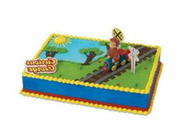 Curious George Train cake decoration Decoset cake topper set