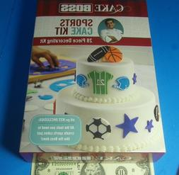 Cake Boss Decorating Tools Sports Cake Kit