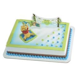 DecoPac Decoset 17183 Pooh - Welcome baby cake decorating ki