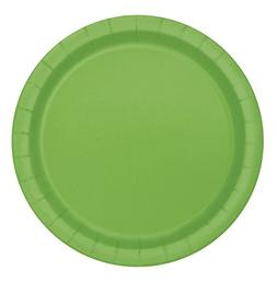 Lime Green Paper Cake Plates, 20ct