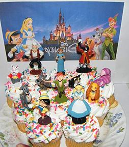 Disney Classic Movies Deluxe Cake Toppers Cupcake Decoration