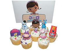 Disney Doc McStuffins Figure Deluxe Cake Toppers / Cupcake P