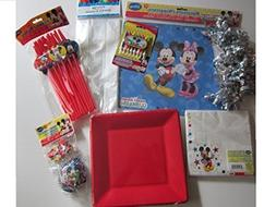 Disney Mickey Mouse Clubhouse Birthday Party Pack Bundle 8 I