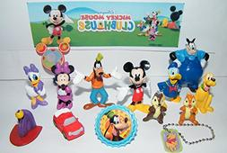 Clubhouse Disney Mickey Mouse Deluxe Party Favors Goody Bag