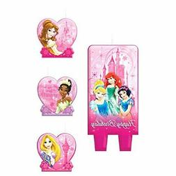 Disney Princess Sparkle Cake Candle  Pack] - 175072