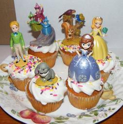 Disney Princess Sophia The First Cake Toppers / Cupcake Deco