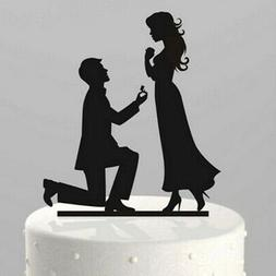 DIY Acrylic Mr & Mrs Cake Toppers Wedding Engagement Party S