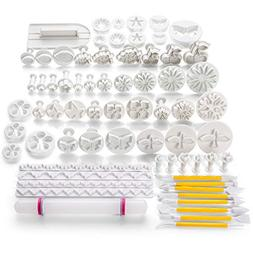 68PCS DIY Cake Decoration Mold Mould Tool Set with Plunger F