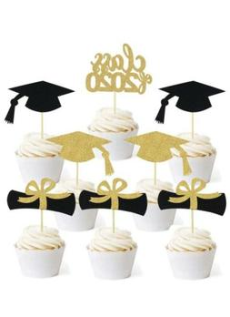 DIY Graduation Cupcake Party Toppers For Graduation Party Mi