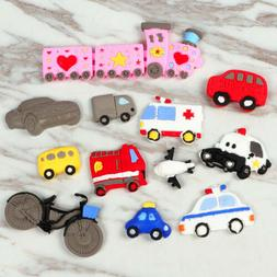 DIY Transportation Tools Silicone Fondant Cake Decor Mold Ch