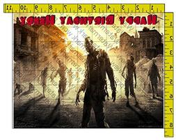 Dying Light Personalized Edible Frosting Image 1/4 sheet Cak