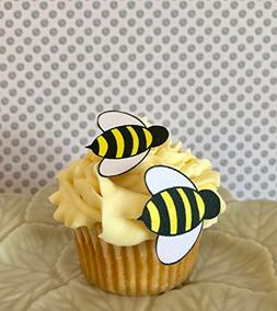 edible bumble bees wafer