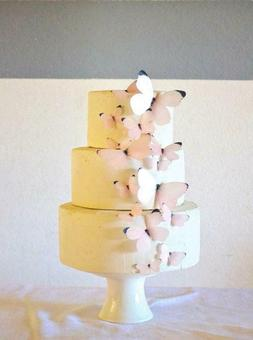 Edible Butterflies - Baby Pink Set of 15 - Cake and Cupcake