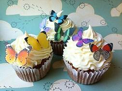 Edible Butterflies - Small Assorted Set of 24 - Cake and Cup