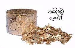 Edible Flakes - Golden Wings by Crystal Candy
