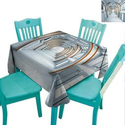 Fantasy Elegant Waterproof Spillproof Polyester Fabric Table