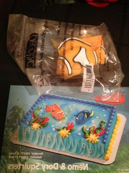 DecoPac FINDING NEMO AND DORY SQUIRTERS CAKE TOPPER DECORATI