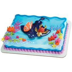 DecoPac Finding Nemo and Squirt Decoset Cake Toppers NEW in