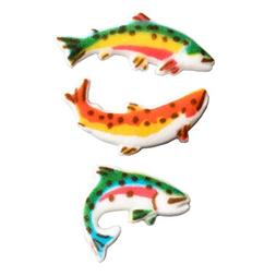 12 Ct. Fisherman's Catch Edible Sugar Dec-Ons Decorations Cu