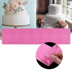 Floral Lace Silicone Cake Novelty Embossing Decor Mat Sugar