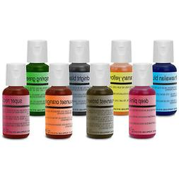 Chefmaster Food Coloring Cake Decorating Paint Set - 8 Color