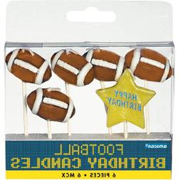 Football Birthday Candles