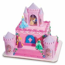 DecoPac Disney Princess Castle CAKE KIT Decorations Topper p