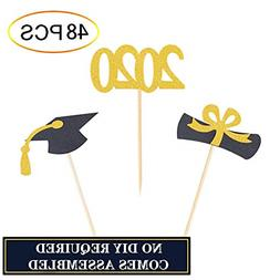 Graduation Cupcake Toppers 2020 Graduation Party Cake Decora