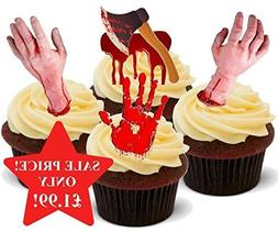 Halloween Bloody Horror Scary Hand Mix - Fun Novelty PREMIUM